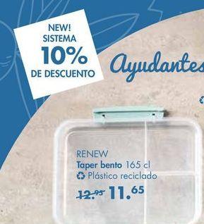 Oferta de Taper bento RENEW por 11,65€