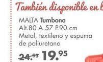 Oferta de Tumbonas Malta por 19,95€