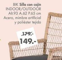Oferta de Silla con cojin BIK por 149€