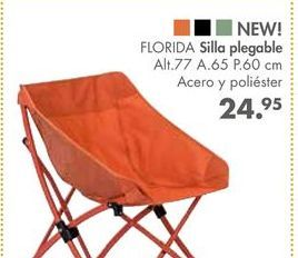 Oferta de Silla plegable FLORIDA por 24,95€