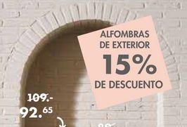 Oferta de Alfombras de exterior  por 92,65€