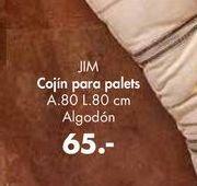 Oferta de Cojines para palets JIM por 65€