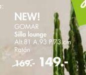 Oferta de Sillas lounge GOMAR por 149€