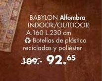 Oferta de Alfombras BABYLON por 92,65€