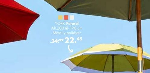 Oferta de Parasol YORK  por 22,45€