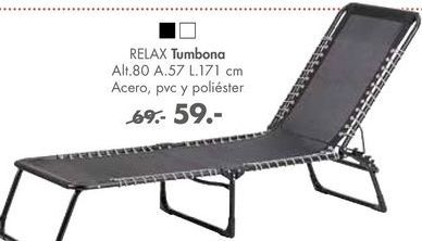 Oferta de Tumbonas Relax por 59€