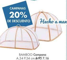 Oferta de Campana decorativa BAMBOO por 7,16€