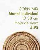 Oferta de Mantel individual CORN MIX por 5,95€