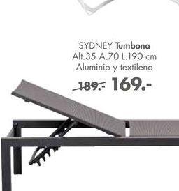 Oferta de Tumbonas SYDNEY por 169€