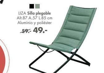 Oferta de Silla plegable LIZA por 49€