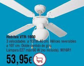 Oferta de Ventilador de techo por 53,95€