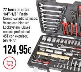 Oferta de Herramientas por 124,95€