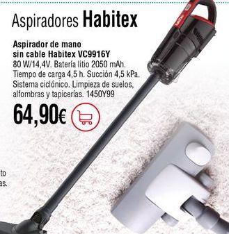 Oferta de Aspirador por 64,9€