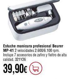 Oferta de Estuche de manicura por 39,9€