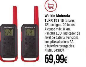 Oferta de Walkie talkie por 69,99€