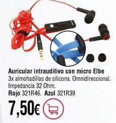 Oferta de Auriculares por 7,5€