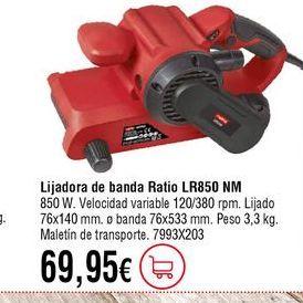 Oferta de Lijadora por 69,95€