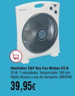 Oferta de Ventiladores por 39,95€