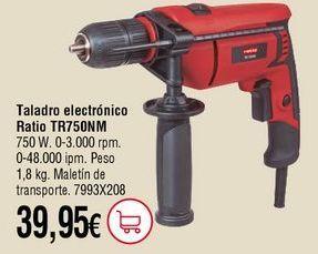 Oferta de Taladro electrónico por 39,95€