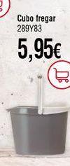 Oferta de Cubo de fregona por 5,95€