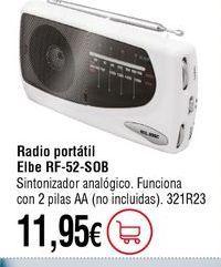 Oferta de Radio portátil por 11,95€
