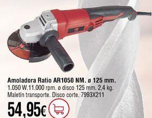 Oferta de Amoladora por 54,95€