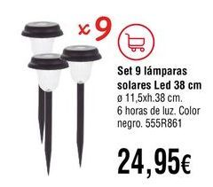Oferta de Lámparas por 24,95€