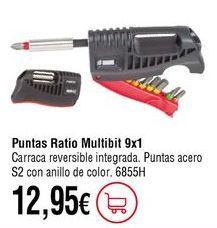 Oferta de Puntas de atornillador por 12,95€