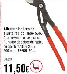 Oferta de Alicates por 11,5€
