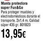 Oferta de Manta por 13,95€