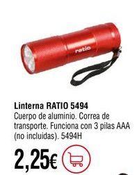 Oferta de Linterna por 2,25€