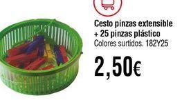 Oferta de Cesto por 2,5€