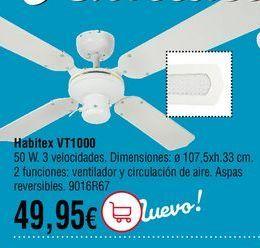 Oferta de Ventilador de techo por 49,95€