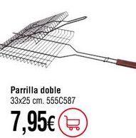 Oferta de Parrilla por 7,95€