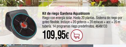 Oferta de Kit de riego por 109,95€