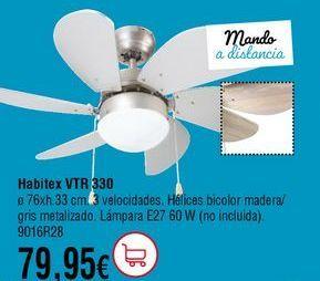 Oferta de Ventilador de techo por 79,95€