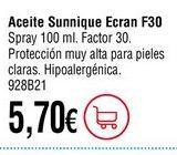 Oferta de Aceite solar por 5,7€
