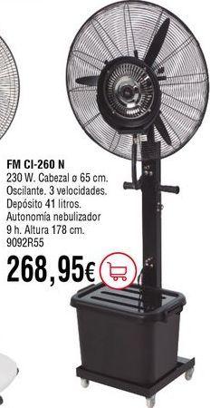 Oferta de Ventiladores por 268,95€