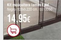 Oferta de Mosquiteras por 14,95€