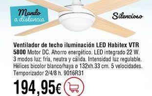 Oferta de Ventilador de techo por 194,95€