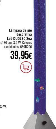 Oferta de Lámpara de pie por 39,95€