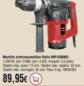 Oferta de Martillo electroneumático por 89,95€