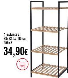Oferta de Estanterías por 34,9€
