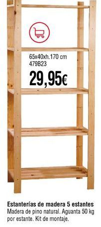 Oferta de Estanterías por 29,95€