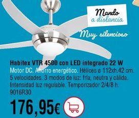 Oferta de Ventilador de techo por 176,95€