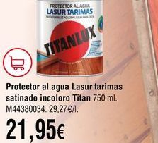 Oferta de Protector de madera por 21,95€