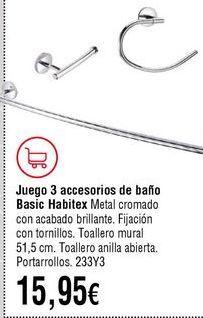 Oferta de Accesorios por 15,95€