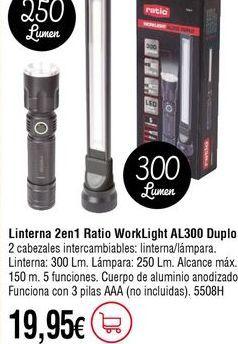 Oferta de Linterna por 19,95€