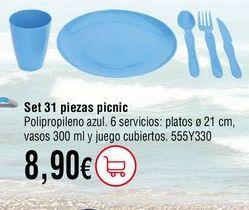Oferta de Platos de plástico por 8,9€