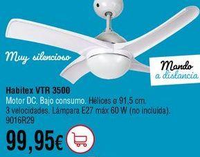 Oferta de Ventilador de techo por 99,95€